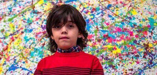 فروش عجیب تابلوهای کودک ۷ ساله